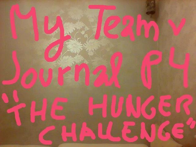 """#TeamvGo My Team v Leader Journal: Part 4 """"The Hunger Challenge"""