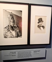 Exhibit on Queen Latifah and Gladys Bentley.