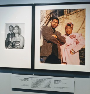 Exhibit with Nina Simone