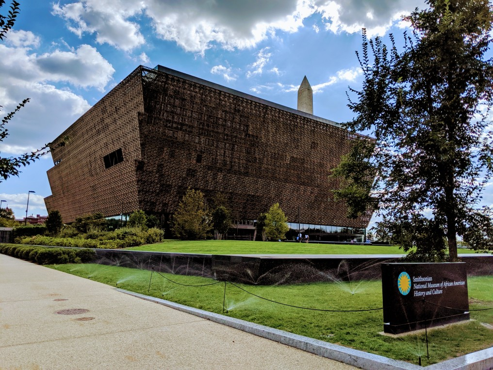 The Smithsonian National Museum of African American History and Culture (NMAAHC).